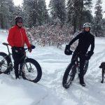 Dave and Ron Fat Biking