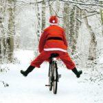 Xmas Bike Santa