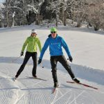 couple-skate-skiing