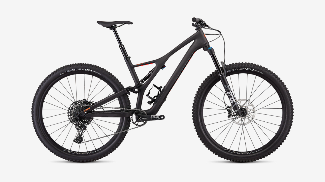 Specialized Stumpjumper Comp Carbon 29 - Carbon/Red - MD Image